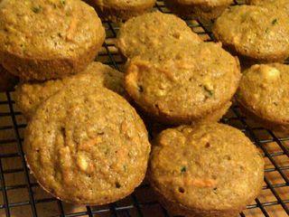 Sweet Potato and Zucchini Mini-Muffins